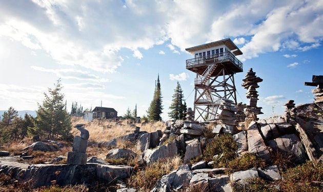 west coast fire tower