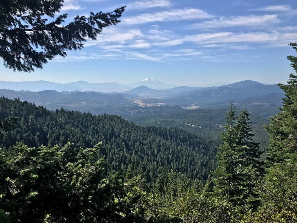 Hikers' view