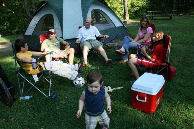 Campgrounds at Raccoon Creek State Park