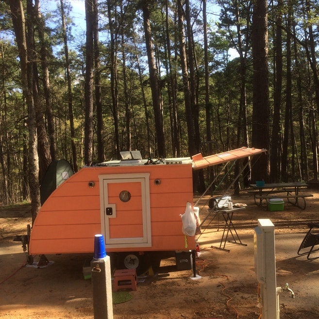 Campgrounds in Tyler State Park