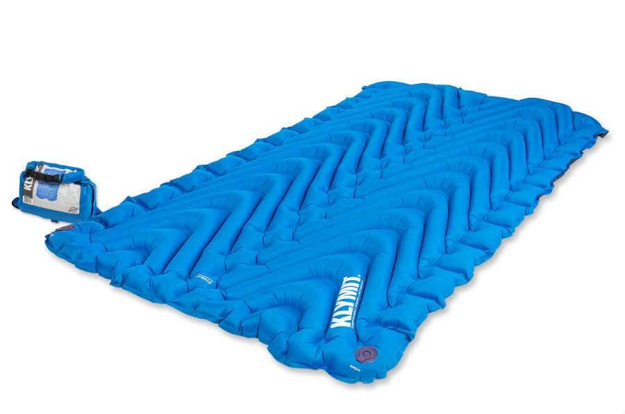 double sleeping bag pad