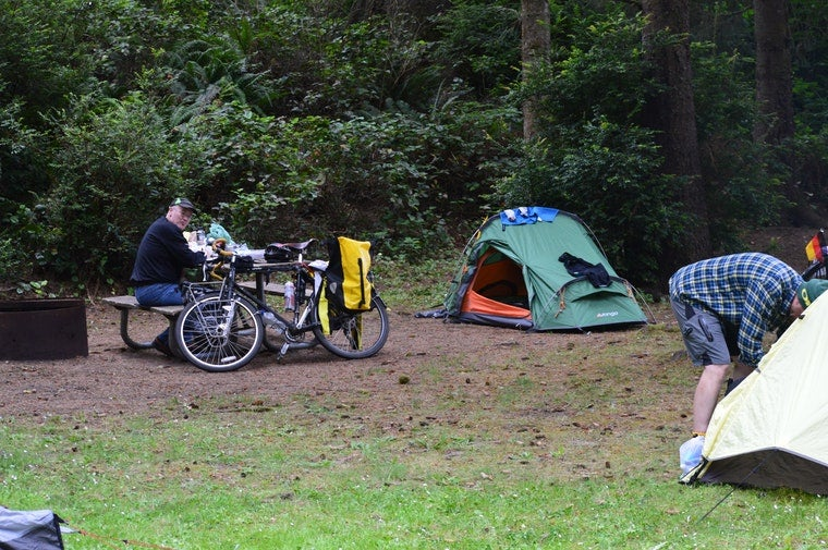 camping at fort stevens state park
