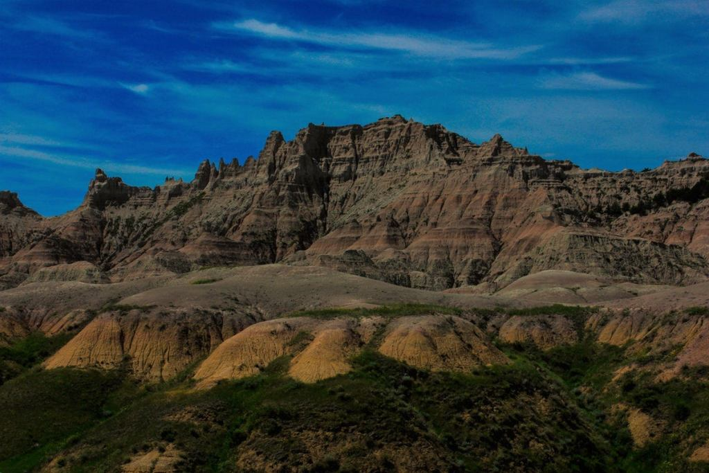 backcountry camping badlands national park