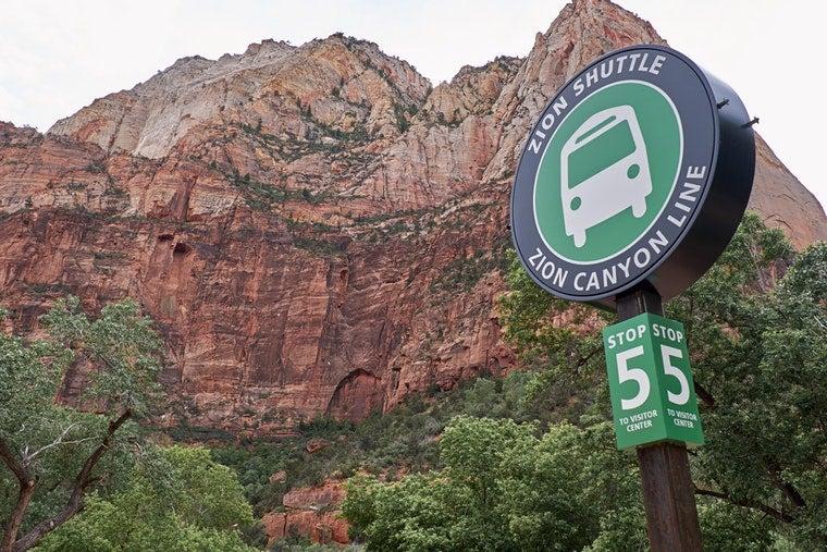 zion national park shuttle