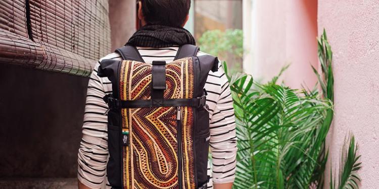 rabari backpacks from ethnotek