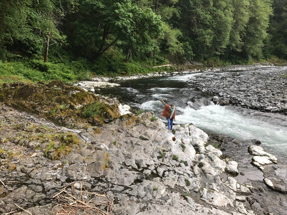 camping without a car in Tillamook State Forest