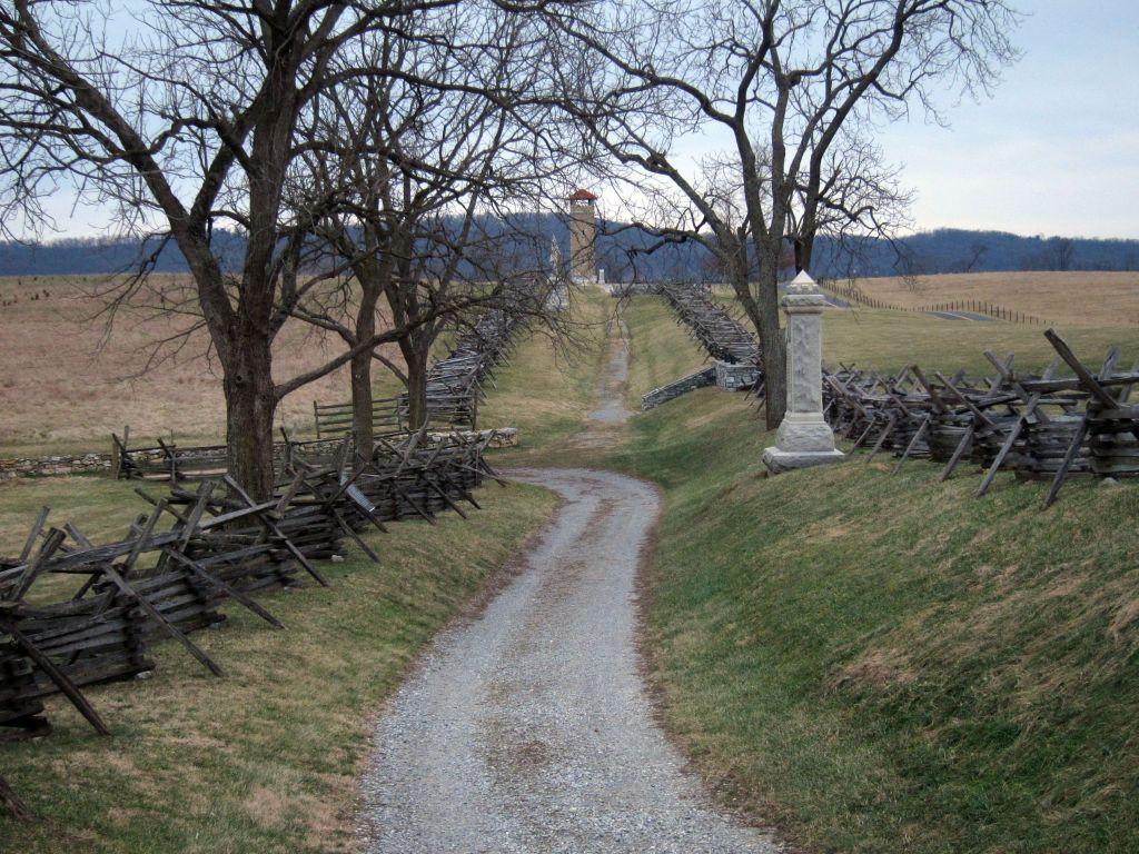 Antietam National Battlefield Sunken Road (Bloody Lane)
