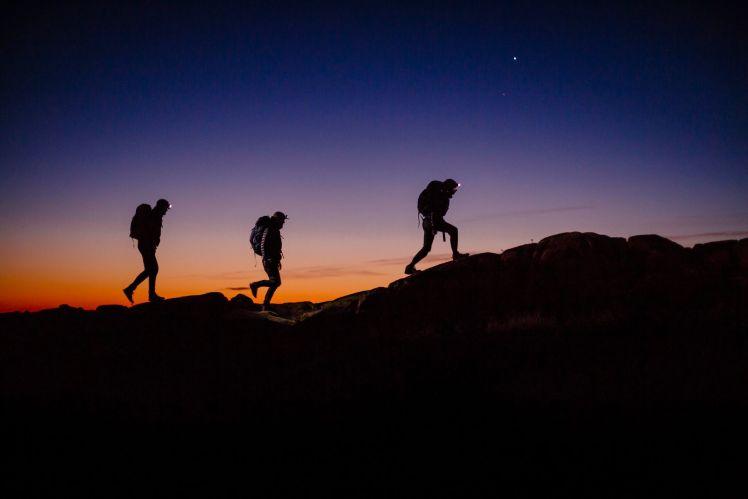 Hasil gambar untuk night hiking