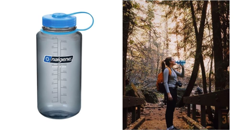 Nalgene 32oz Wide Mouth Water Bottle — The Dyrt's Top Gifts Under $50