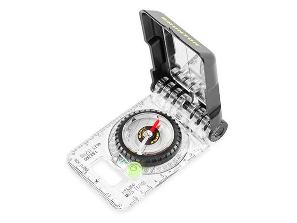brunton truarc compass on a white background