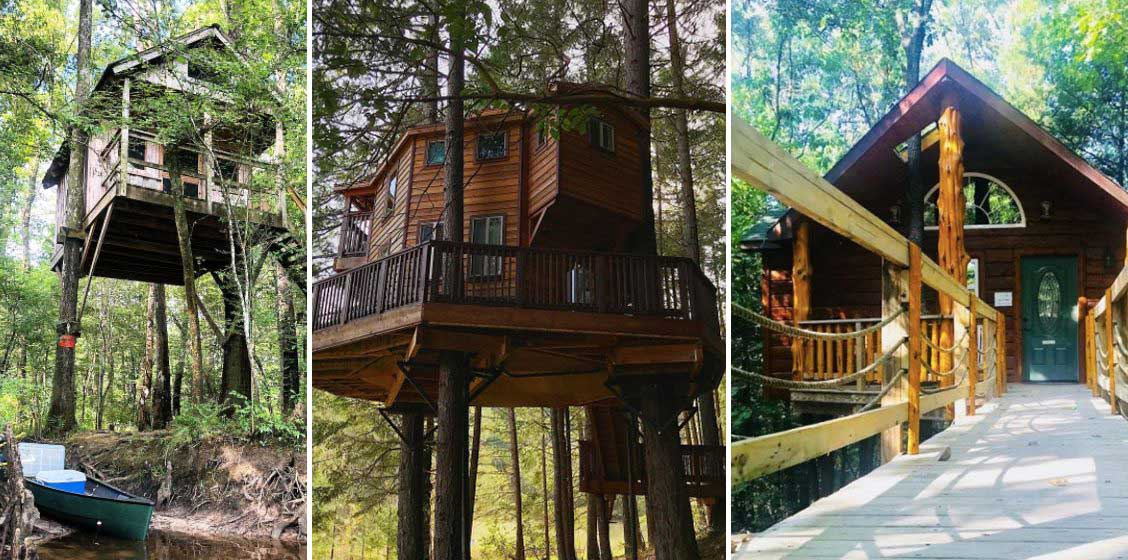 Treehouse Camping: 12 Places to Find Camping in the Branches