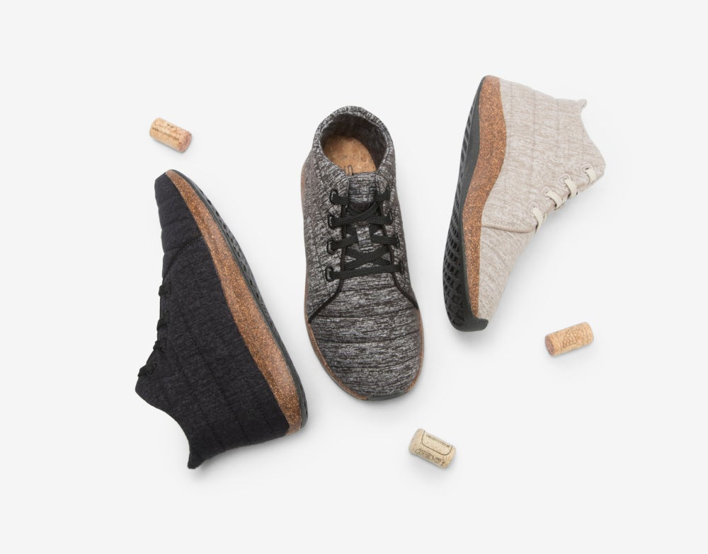687c1b8a8aa06 These Eco-Friendly Shoes are Made From Algae, Bison Hair, & Corks