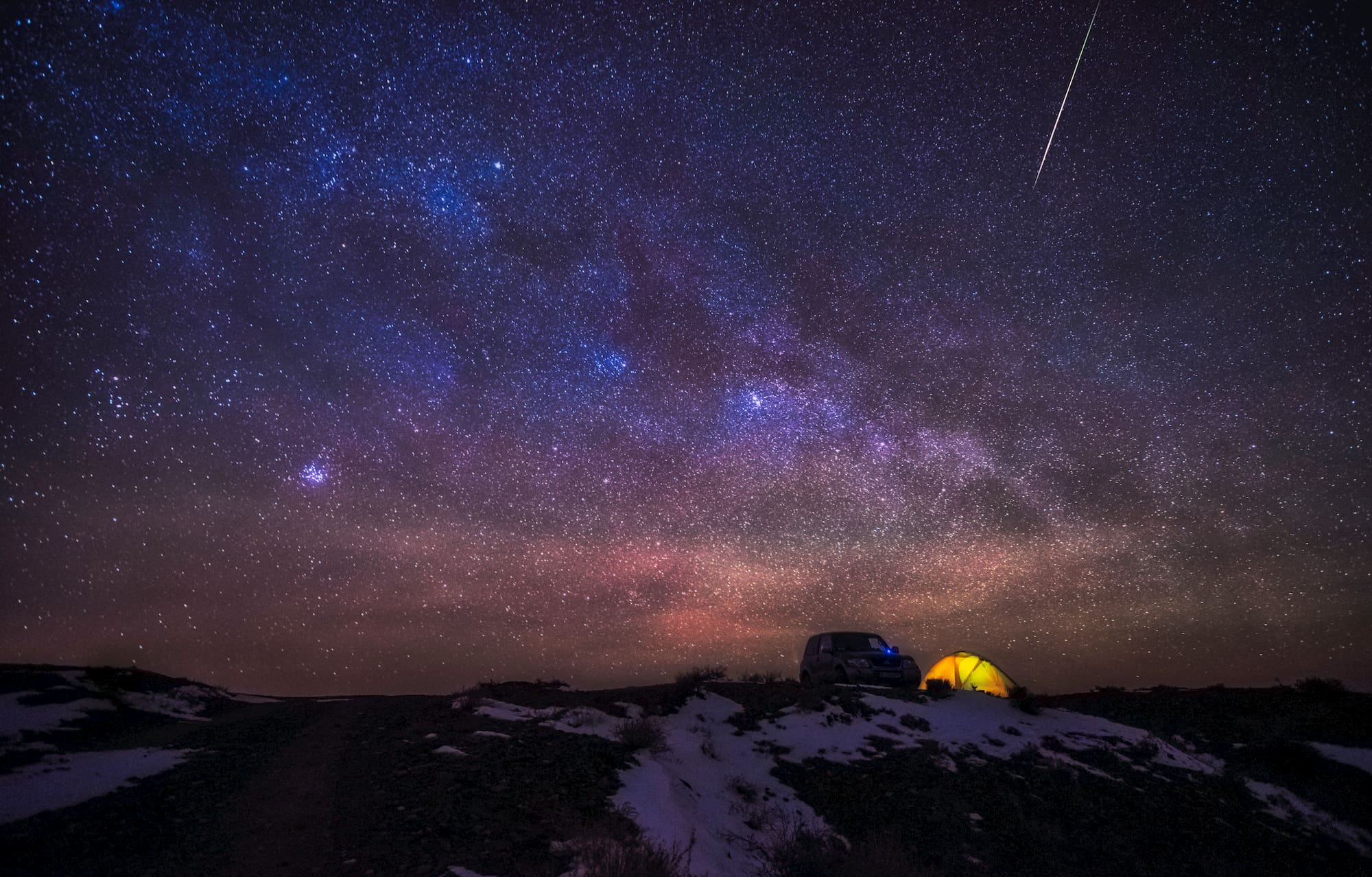 8 Meteor Showers You Can Catch from Your Campsite in 2019