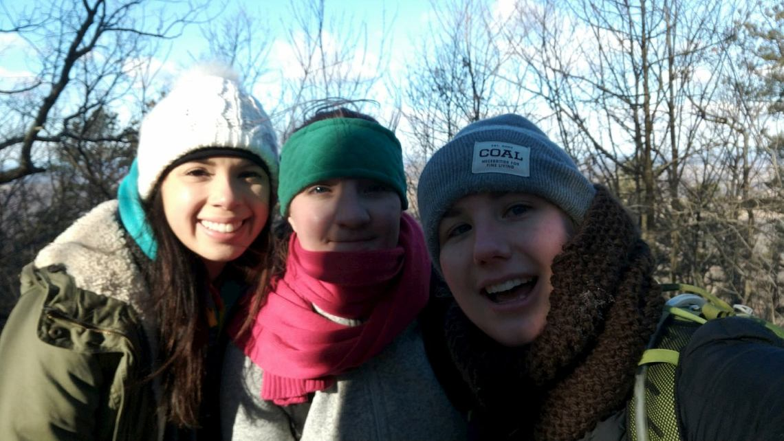 Kim with Friends to Raven Rocks, Hike 1 of 52 - Jan 2018 (2)