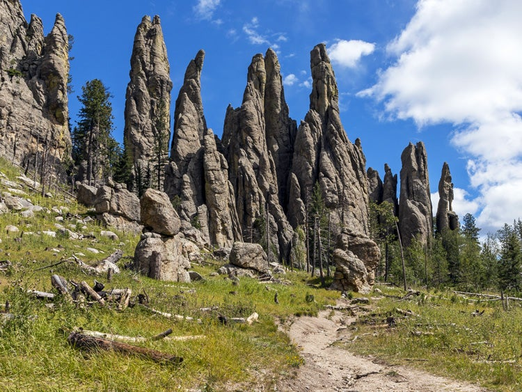 cathedral spires custer state park south dakota