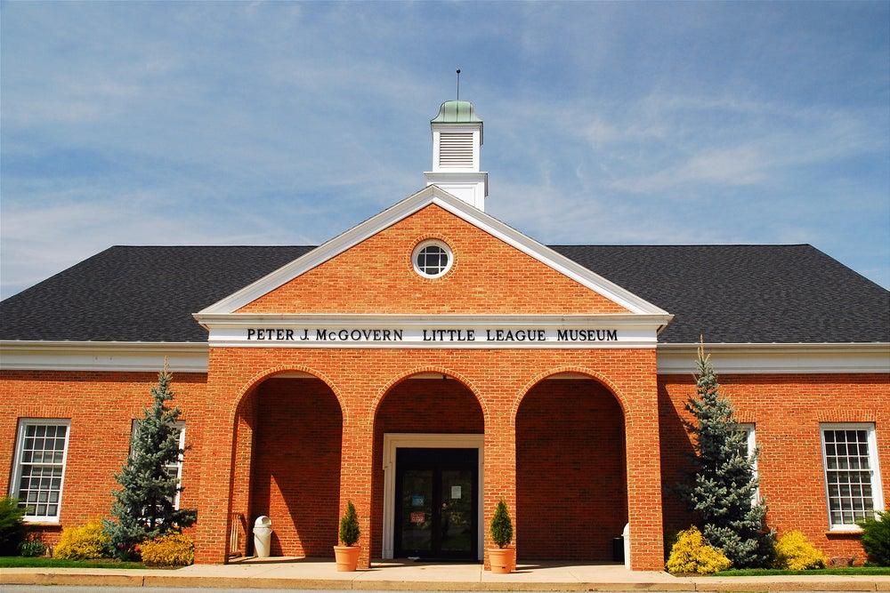 Building of little league museum