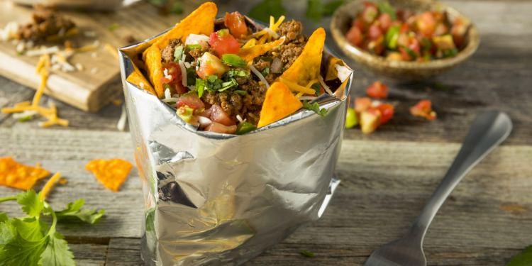 Taco in a bag.