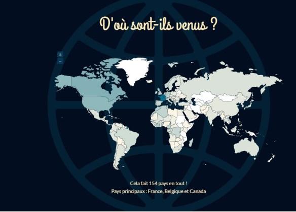 Les lecteurs de Batteur Débutant viennent de partout dans le monde !