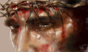 Исус Христос поглежда Петър