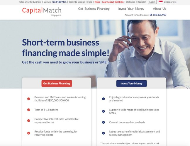 capital match p2p lending platform