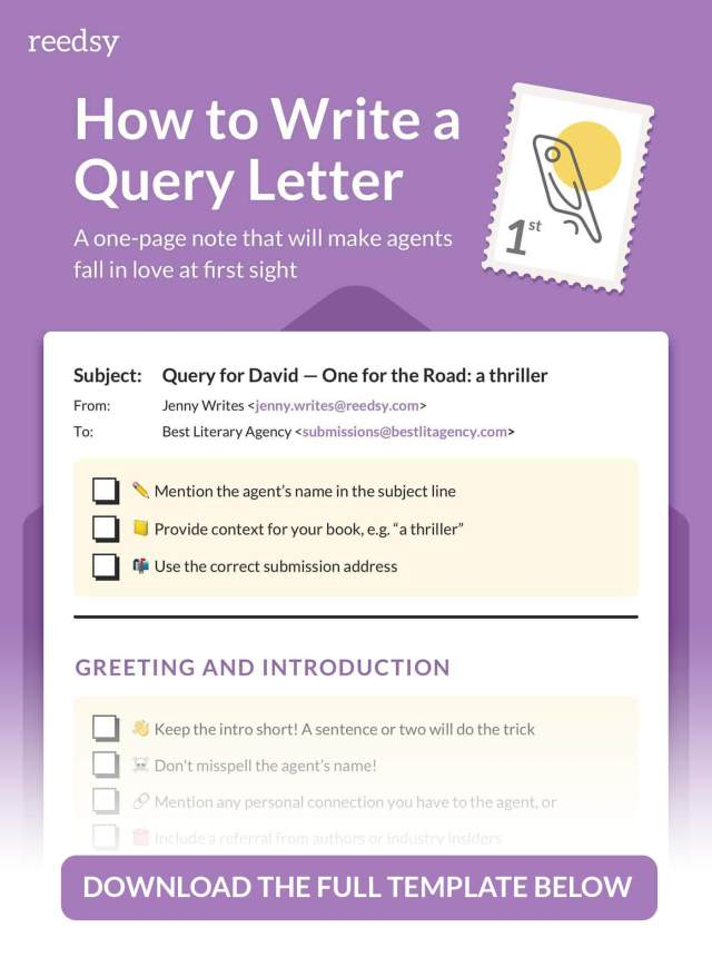 How to Write a Query Letter in 23 Simple Steps