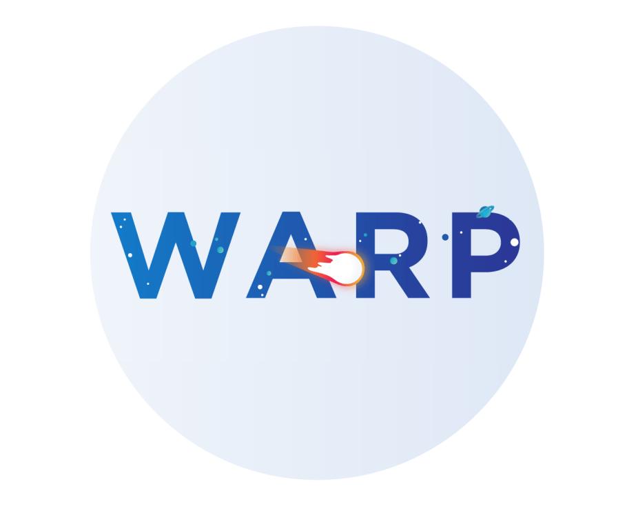 WARP is here (sorry it took so long)
