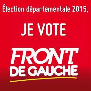 je vote front de gauche