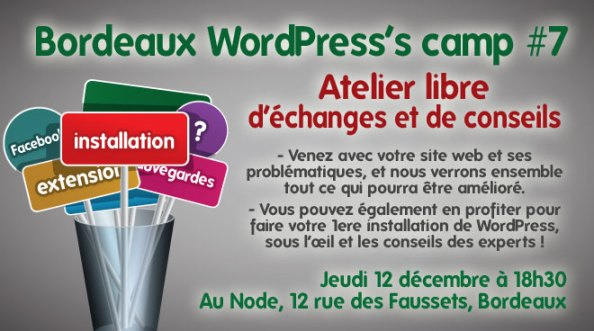 Bordeaux WordPress's Camp #7 Rashel Réguigne