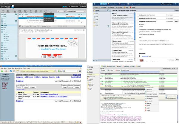 webmail - email - quelle est la meilleure solution pour lire ses emails