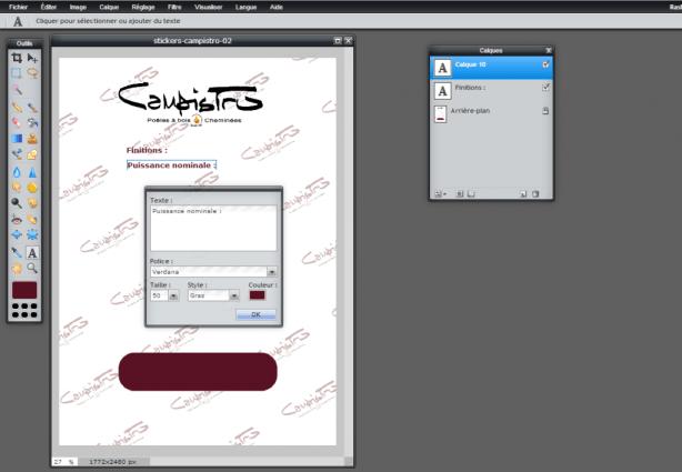 Pixlr Editor - Comment ajouter du texte sur une image