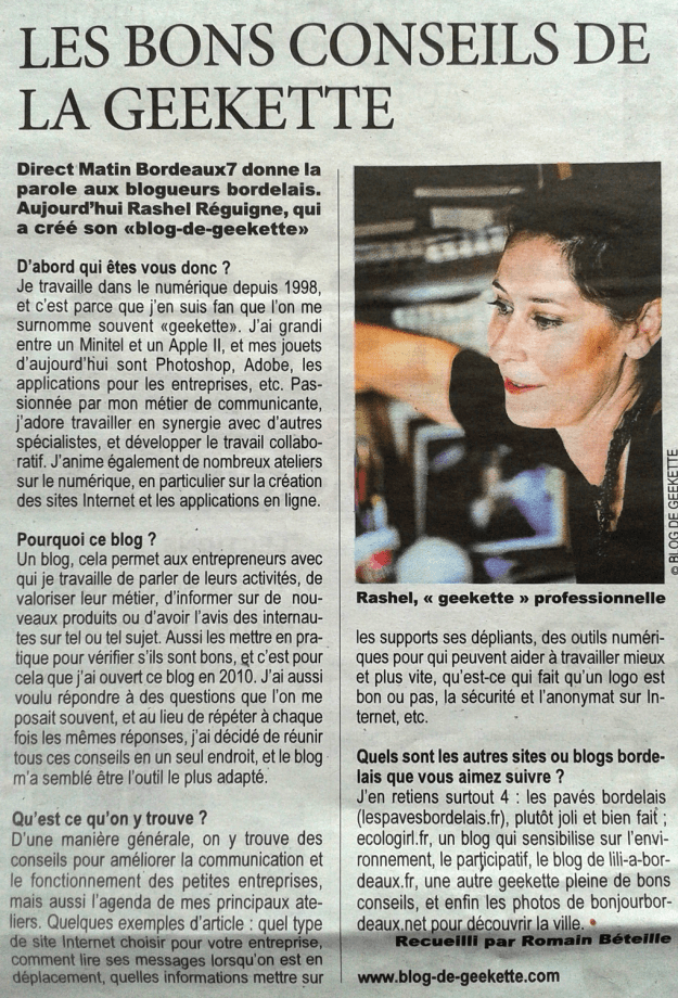 Rashel Réguigne Direct Matin Bordeaux7