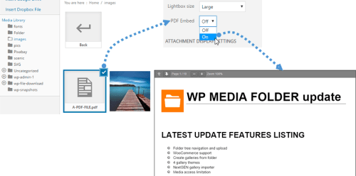 wordpress bibliotheque des medias wp media folder joomunited