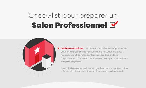 La check-list pour réussir vos salons professionnels