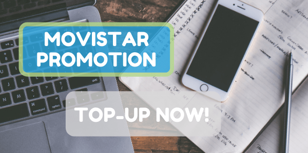 New promotions! Top-up any Movistar Nicaragua or El Salvador phone