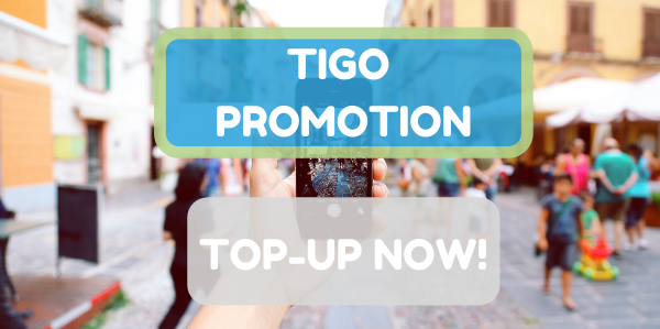 Special promotion to recharge Tigo this weekeend, don't miss it!