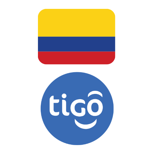 Top-up Tigo Colombia