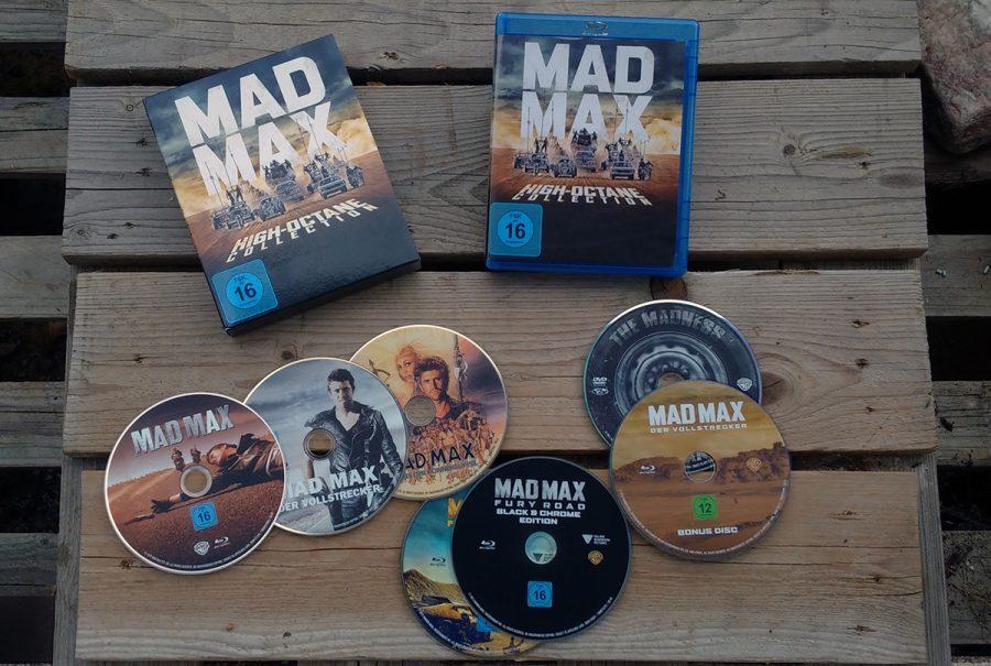 Mad Max 1-4 auf Blu-ray