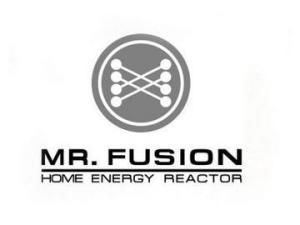 Mr. Fusion Logo Fluxkompensator