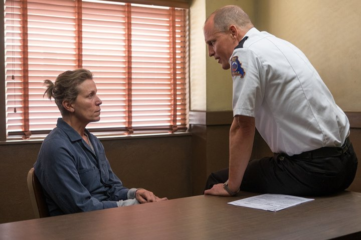 Three Billboards Outside Ebbing, Missouri Frances McDormand Woody Harrelson