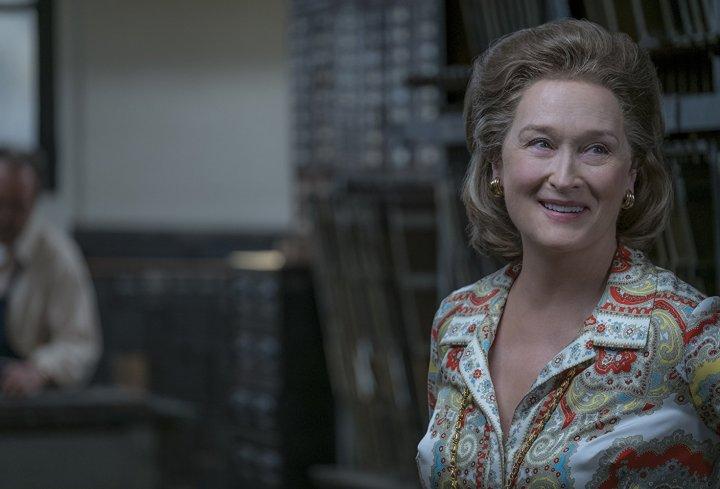 Die Verlegerin Meryl Streep