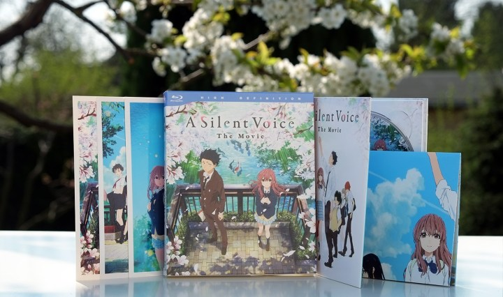 A Silent Voice Deluxe Edition Blu-ray Kaze