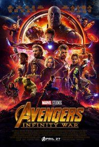 Avenegrs Infinity War Kinoposter
