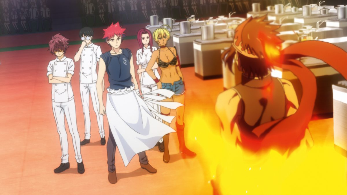 Food Wars! Shokugeki no Soma Szenenbilder
