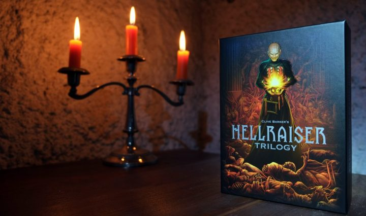 Hellraiser Trilogy Blu-ray-Deluxe-Box Limited Edition Blu-ray-Set 5 Discs im Digipack Buch im Hartkarton 1750 Stück