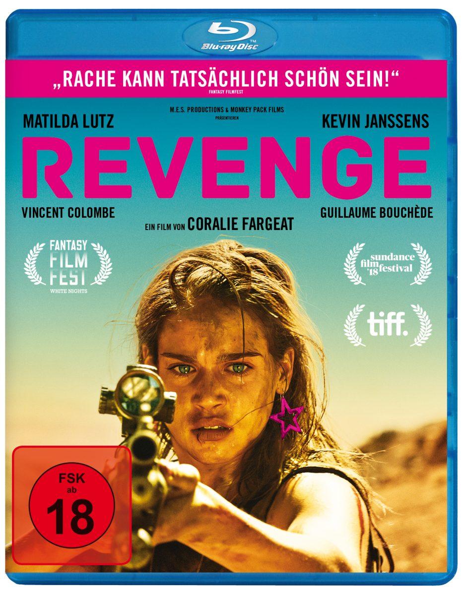 Revenge-Cover Blu-ray
