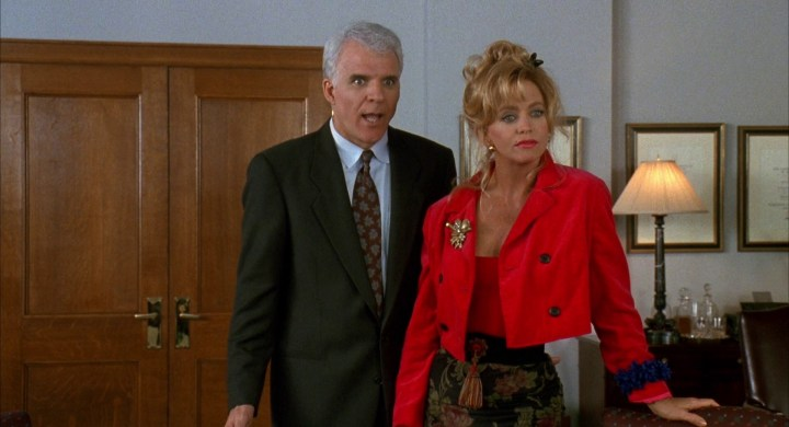 Housesitter Steve Martin Goldie Hawn Review