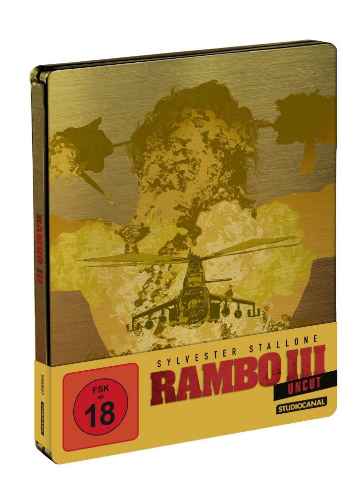 Rambo 3 Blu-ray Steelbook