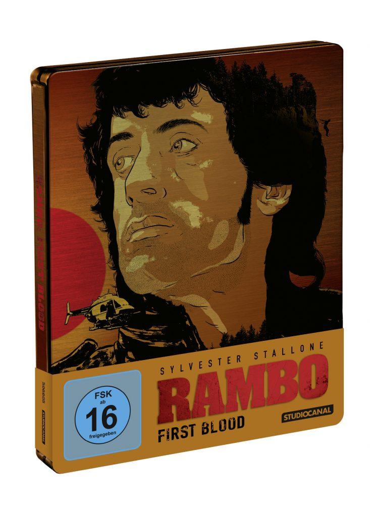 Rambo Blu-ray Steelbook