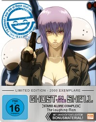ghost in the shell stand alone complex laughing man Steelbook