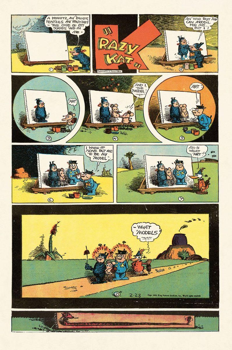 George Herrimans Krazy Kat 12